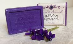 French Violette Soap