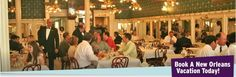New Orleans: Galatoire's Restaurant- French Creole cuisine run by 4th generation proprietors.