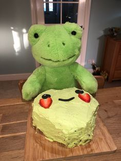 Frog Pictures, Cute Pictures, Cute Stuffed Animals, Cute Animals, Chi Le Chat, Fluffy Cows, Frog Cakes, Green Frog, Cute Frogs