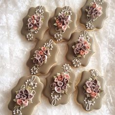 #2 - Bouquet Cookies by littlesugar