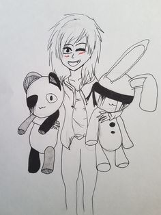 """""""I love teddy bears"""" Quick Sketch by Andrea.†"""