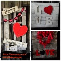 13 Best Valentine S Day Wood Signs For Your Home Images On Pinterest