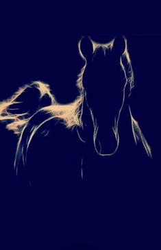 Think this would make an amazing tattoo. Have to agree. All The Pretty Horses, Beautiful Horses, Animals Beautiful, Horse Drawings, Art Drawings, Animals And Pets, Cute Animals, Equine Art, Horse Pictures