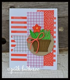 Suite Sentiments and Basket Builder by Stampin' Up! Designed by Erica Cerwin @ Pink Buckaroo Designs