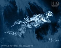 P003: Tiger Patronus by DigitDreams on Etsy