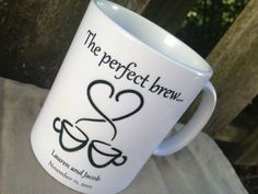 coffee mug wedding favors - Google Search                              …