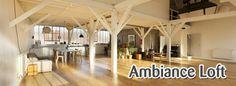 style industriel -La décoration loft pour un intérieur contemporain #deco