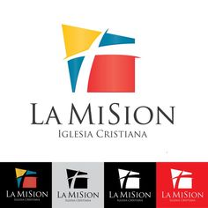 Create a powerful, modern, clean and colorful logo for a hispanic church by Nininka_design