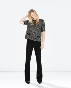 Image 1 of TOP WITH DETAIL from Zara