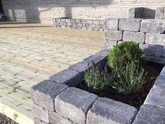 Slik bygger du utekjøkken | Asak Miljøstein Sidewalk, Terrace, Walkway, Walkways
