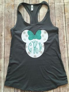 Minnie Mouse Adult Disney Tank Top/adult minnie shirt/adult disney tank top/ womens disney shirts/ #minnie tank/disney shirt/womens disney by LeLeandTee on Etsy https://www.etsy.com/listing/400981559/minnie-mouse-adult-disney-tank-topadult