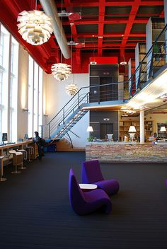 Architecture Library - Faculty of Architecture Delft by Wladimir Apostolov, via Flickr