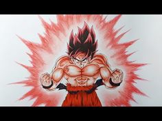 Drawing Gohan Super Saiyan 4 | SSJ4 - YouTube
