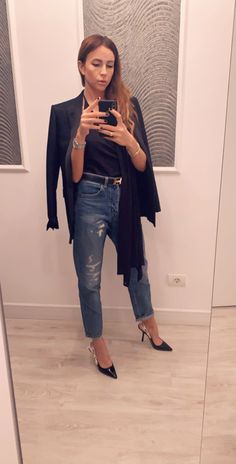 Outfit Mom Jeans, Street Style, Pants, Outfits, Fashion, Trouser Pants, Moda, Suits, Urban Style