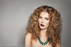 Makeup Look 3 Hair Option Makeup Portfolio, Tight Curls, Beauty Shots, Kinky, Hair Inspiration, Color Pop, Turquoise Necklace, Makeup Looks, Hair Beauty
