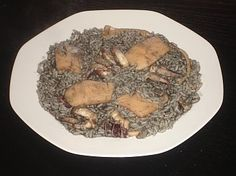 Authentic Greek Recipes: Cuttlefish With Rice (Soopyes me Rizi)
