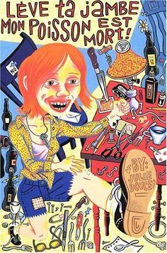 Julie Doucet illustration