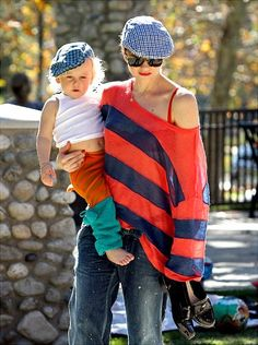Zuma Nesta Rock Rossdale (Gwen Stefani & Gavin Rossdale), love her casual style out with her kids