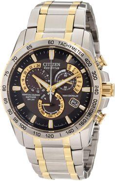 Citizen Men's AT4004-52E Perpetual Chrono A-T Watch: Watches: Amazon.com