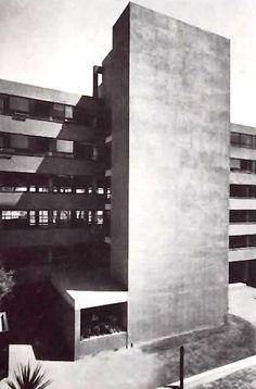 Edificio de oficinas, el general Mariano Escobedo 539, Polano, México DF 1960 Arq. Juan Sordo Madaleno Office building in Polanco, Mexico City 1960 -  Office building in Polanco, Mexico City 1960
