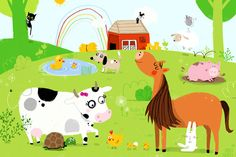 Farm Animals by sophia touliatou, via Flickr
