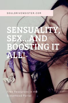Having a hard time feeling sensual and connected sexually? My name is Natalie and I'm an Intuitive Healer, Channeler and Soul Integration Coach. Nothing makes my heart swell more than seeing women (like you) glow in their physical body, be empowered by their emotions, and connect deeply to their intuitive wisdom. Follow the link to learn about sensuality, sex...and boosting it all! #healing #healer #intuitive #healyourself #healingtrauma #spiritguides #personalgrowth #selflove #sensuality Grounding Meditation, Free Meditation, Guided Meditation, Spirit Guides, Healer, Intuition, Connect, Glow, Wisdom