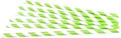 WeGlow International Lime Stripe Patterned Party Paper Straws Novelty 36Pack *** Read more  at the image link. (Note:Amazon affiliate link)