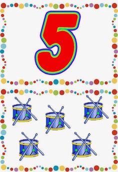 MANIPULANDO NUESTRAS MATEMÁTICAS: TARJETAS ASOCIACIÓN: GRAFÍA, CANTIDAD, DEDOS DE LA MANO Numbers Preschool, Math Numbers, Math Games, Preschool Activities, Animated Numbers, Teaching The Alphabet, Math For Kids, Numeracy, Pre School