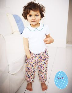Discover our fun collection of pants and jeans for babies at Boden. Pick play-proof and practical pants with comfy jersey styles and soft leggings. Toddler Pants, Toddler Outfits, Baby G, Baby Kids, Kids Fashion, Fashion Outfits, Kids Wardrobe, Mini Boden, Jeans