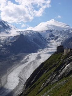 Pasterze glacier, Großglockner, Carinthia, Austria