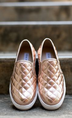 Steve Madden - Shoe - Steve Madden Ecentrcq Sneaker - Rose Gold - Cheeky Peach Boutique - 2