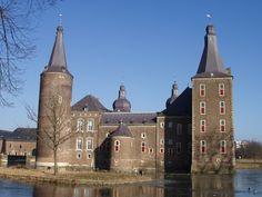 Kasteel Hoensbroek in Limburg, The Netherlands. Castle. Chateau. Schloss. Zamek. Slott.