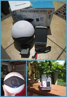Pool Jam Waterproof iPod Ready Wireless Speaker