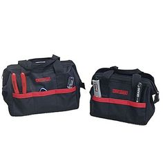 00940558000-1. Craftsman  10 in. and 12 in. Tool Bag Combo