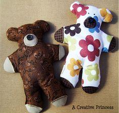 How to Make a Boo Boo Bear…http://pinkpapayaparty.com/beautifulyou