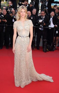 Mélanie Laurent, in Zuhair Murad Couture at the Cannes Film Festival