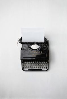 This makes me happy, I've always wanted a typewriter, ever since playing with the one my grandpa used for work. -ajp