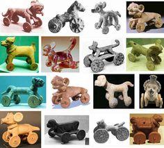 Precolumbijskie zabawki na kólkach /  Meksyk i Centralna Ameryka