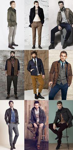 Men's Trousers & Chinos Lookbook
