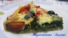 Risparmiamo Insieme - Let's save together: Torta salata vegetariana
