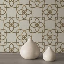 Image result for gold wallpaper in a room