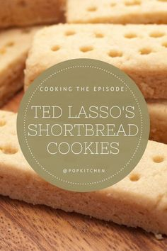 Cooking the Episode: How to Make Ted Lasso's Catch a Boo Shortbread Cookies #TedLasso #Shortbread #Cookies #Shortbreadcookies #Dessert #Summerdesserts Summer Desserts, Just Desserts, Delicious Desserts, Dessert Bread, Dessert Table, Baby Food Recipes, Cookie Recipes, Best Shortbread Cookie Recipe, Food Hunter