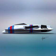 Boat martini racing team inspiration
