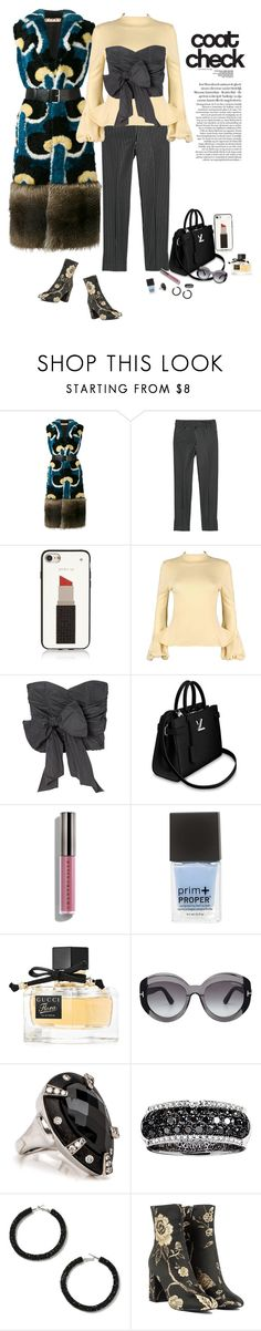 Statement Coat by deborah-518 on Polyvore featuring Alexander McQueen, Marni, Rebecca Taylor, Akira, Miss Selfridge, Effy Jewelry, Kate Spade, Tom Ford, Gucci and Chantecaille