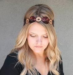 Hippie tie headband for women and teens