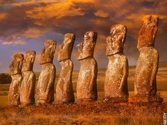 """""""Not just for rabbits anymore"""". Sail to the moai statues. Easter Island, Chile. #JetsetterCurator"""
