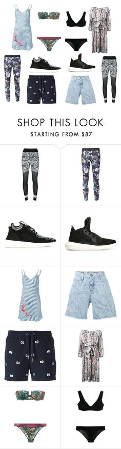 """Little things"" by kristen-stewart-2989 ❤ liked on Polyvore featuring adidas, adidas Originals, Carven, Current/Elliott, Zoe Karssen, Zimmermann and vintage"