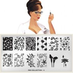 Pro Plate Collection 10 I need that Mickey Mouse stamp. Moyou Stamping, Nail Stamping Plates, Nail Art Stencils, Nail Art Designs Images, Pencil Sketch Drawing, London Nails, Image Plate, Nail Plate, Latest Nail Art