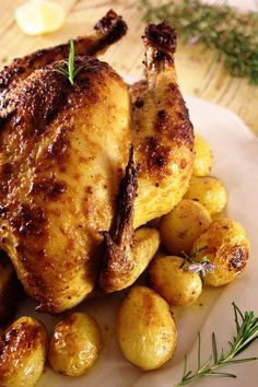 Cinco Quartos de Laranja: Frango assado no forno com mostarda em grão