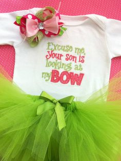 Baby Girl Onesie  Bodysuit  Embroidered by AllThatSassBoutique, $45.00